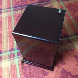 Vintage Bombay Company Swivel 4 Layers Jewelry Box